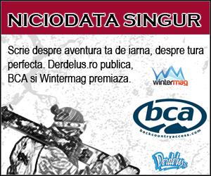 Concurs BCA Wintermag Derdelus - Niciodata singur